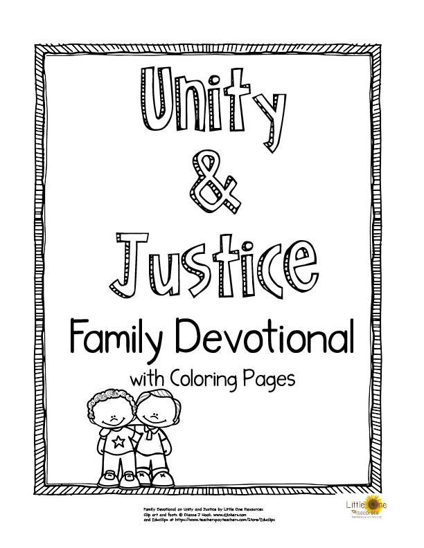Baha I Unity Justice Family Devotional With Coloring Pages Bahai Quotes Family Devotions Quote Coloring Pages