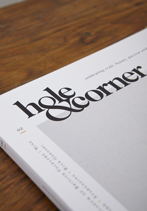 Hole and Corner Magazine, 2 Issue Two.