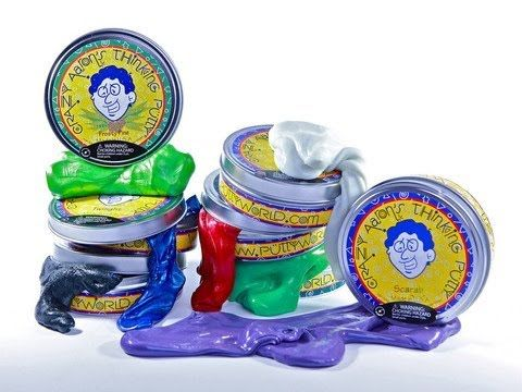 Discover the desk toy to beat all desk toys. Grab some stress relieving, hand exercising, mind expanding, totally fun and addicting Thinking Putty! Different types of thinking putty available at Fab Store outlet in spinneys, The Pearl - Madinat Centrale or visit www.fab-store.com