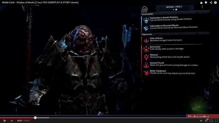 shadow of mordor ui - Google Search