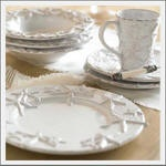 Seaside Inspired | sea shell tableware from seasideinspired.com