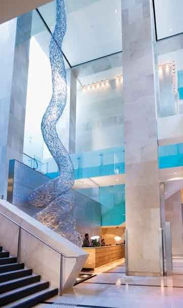 Hilton Hotel Sydney designed by Johnson Pilton Walker Architects