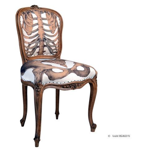 Sam Edkins - The Anatomically Correct Chair Model 4