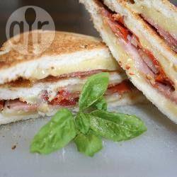 Foto recept: La Dolce Vita Club Sandwich