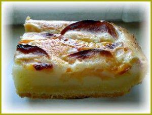 Песочный пирог с фруктами - достойная альтернатива шарлотки.