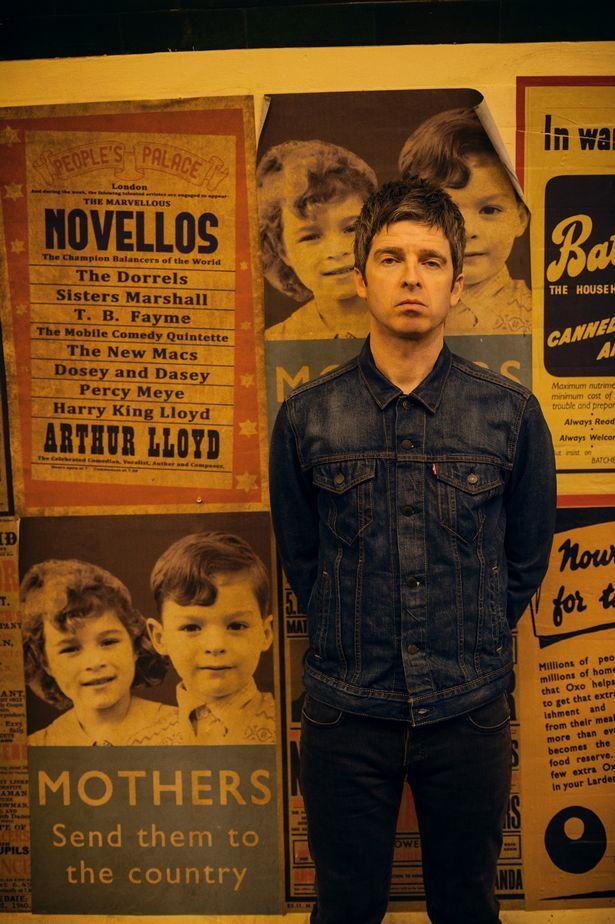"noel gallagher - ""after Monday afternoon, we are cursed to be eternally bored..."""