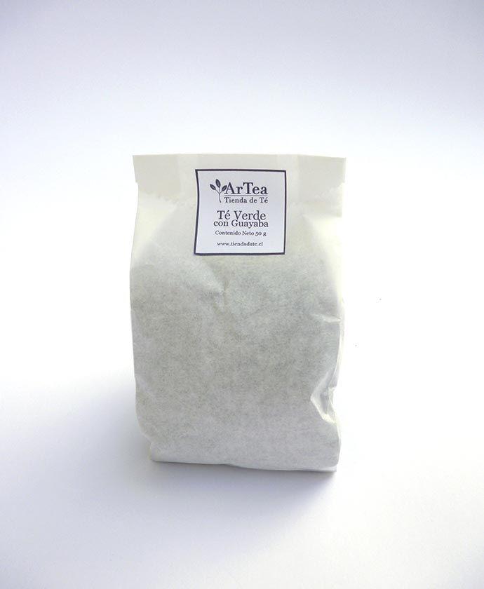 Té verde con guayaba - oferta desde $2.690 Sabor tropical traido directamente desde las playas para saborizar una deliciosa taza de té verde.  http://tiendadete.cl/producto/te-verde-con-guayaba/
