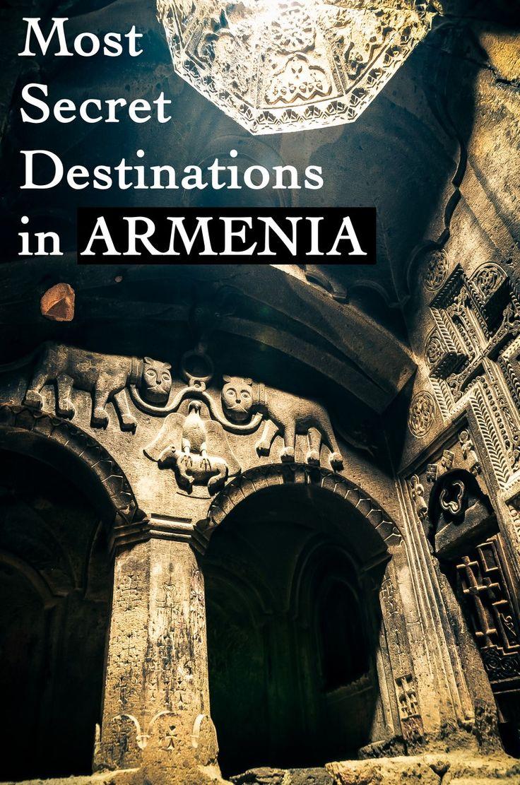Most secret places in Armenia