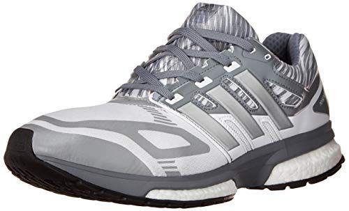 online retailer 8caa7 dd5a8 adidas Performance Men s Response Boost Techfit M Running Shoe, White Tech  Grey Tech Grey, 8.5 M US