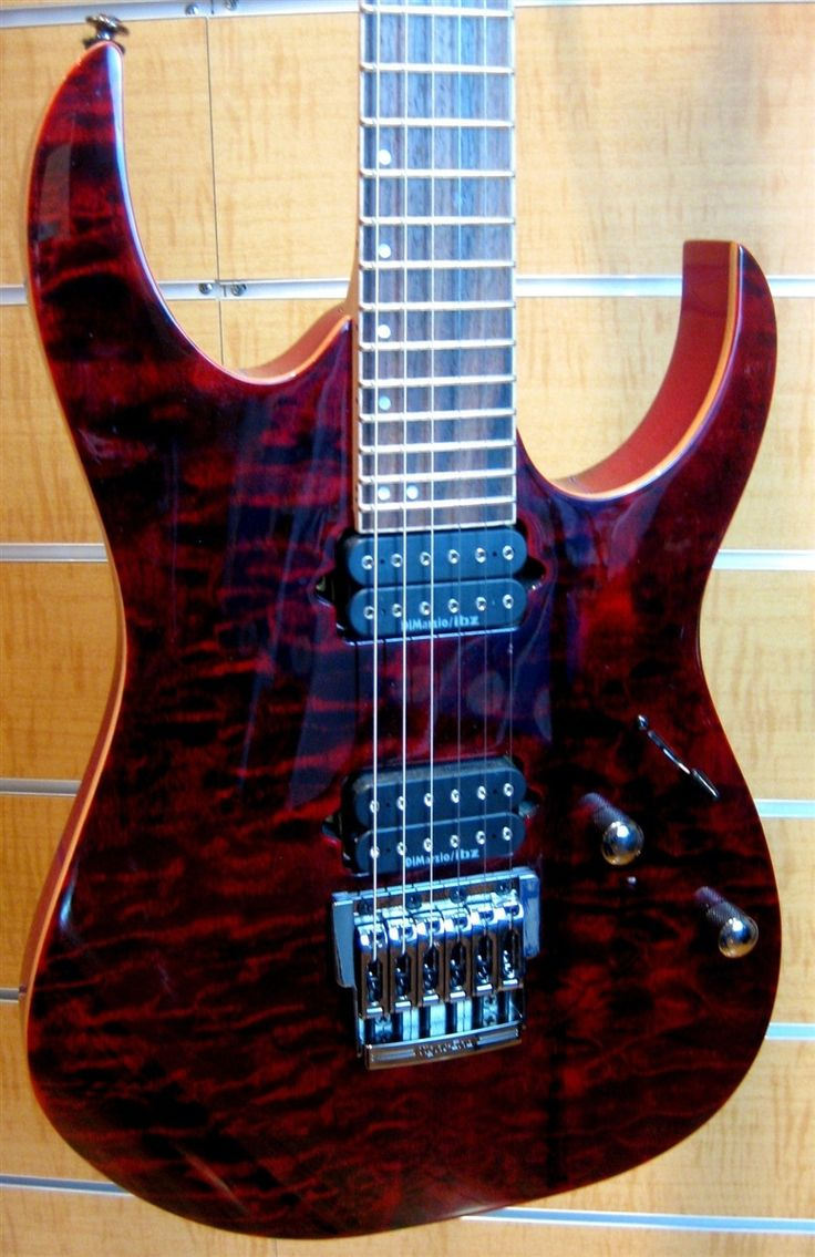 Ibanez Premium RG921QMF Red Desert Electric Guitar | Store Display Clearance Sale