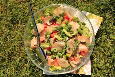 sweet cherimoya: Najzdrowsza sałatka na obiad w plenerze