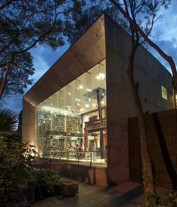 Elena Garro cultural center in Cyoacan, Mexico by fernanda canales + arquitectura 911