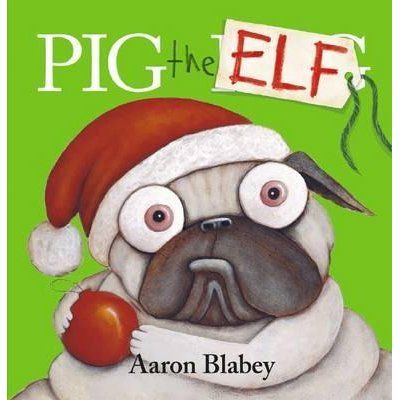 No one loves Christmas more than Pig.   And the world's greediest Pug will stay up all night to get his presents!