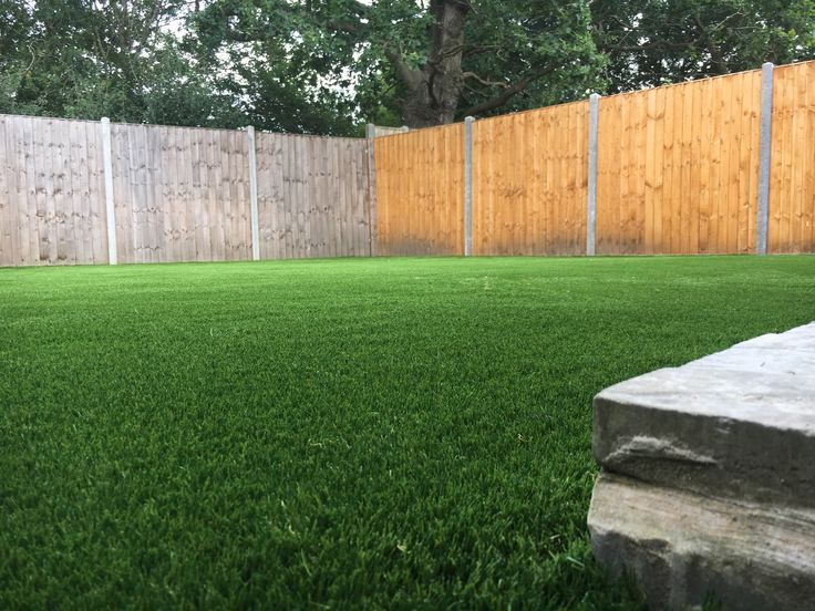 Artificial Grass shown In a Larger Garden