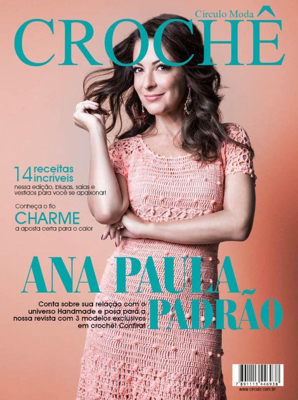 Artesanato com amor...by Lu Guimarães: NOVIDADE: Revista Moda Crochê nº4 – Ana Paula Padr...