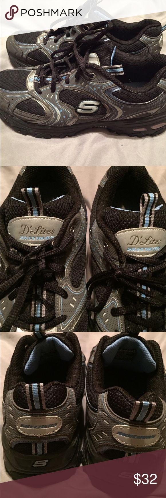 Skechers D'Lites women's 8.5 Skechers D'Lites EUC! Woman's size 8.5. Worn a handful of times. Skechers Shoes Athletic Shoes