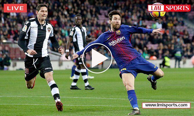 Levante Vs Barcelona Live Stream Bein Sports 16 Dec 2018 Free Watch Espn La Liga Reddit Soccer Streams Free 2018 Bein Sports Sports Free Watches