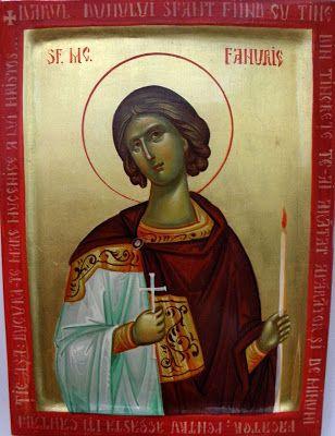 St Phanourios icon