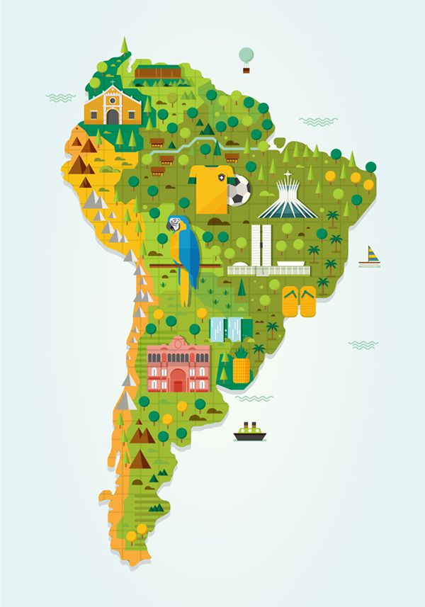 Best South America Map Ideas On Pinterest World Country - World map latin america us