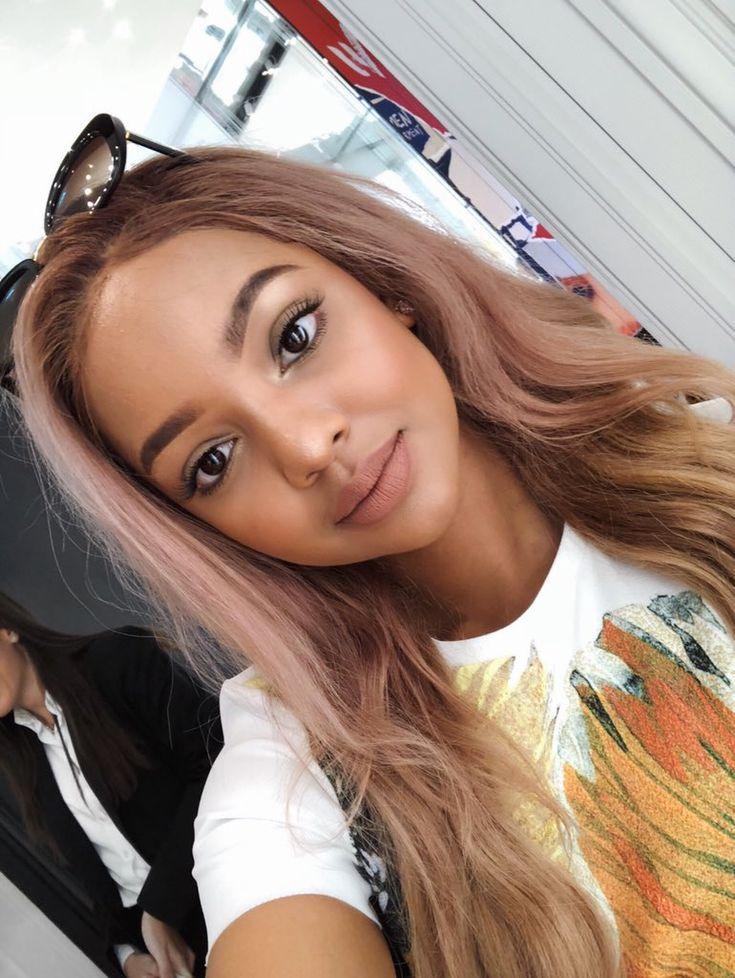 Pin By Amanda Bennett On Mihlali Ndamase ️ In 2019 Hair
