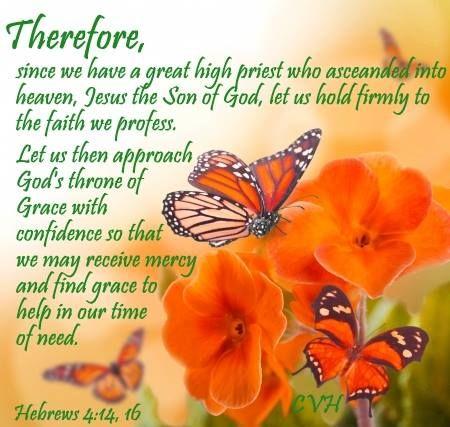 HEBREWS  4:14 - 16