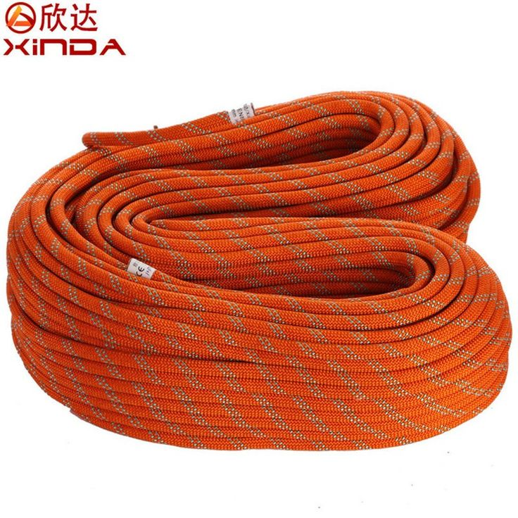 XINDA durable 15-20m 12mm 33KN Static Rope Professional Climbing cord Mountaineering rope paracord
