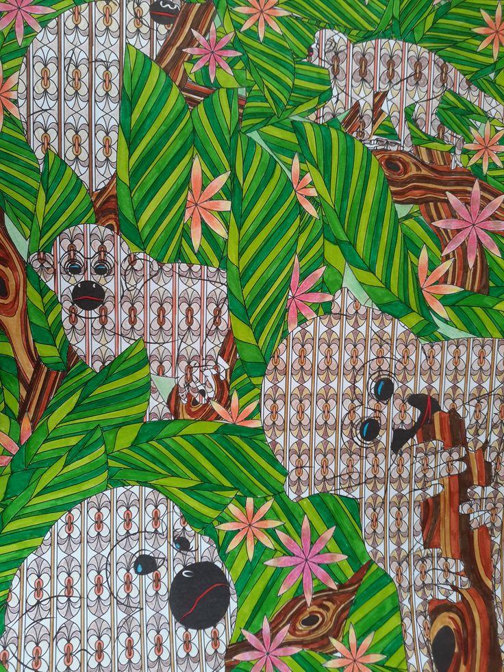Mystérieuse Jungle de Sara Muzio