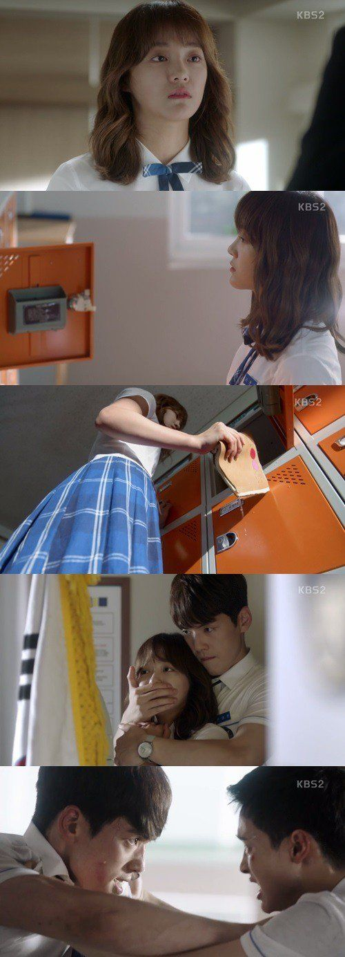 "[Spoiler] ""School 2017"" Kim Sejeong becomes a loner because of X"