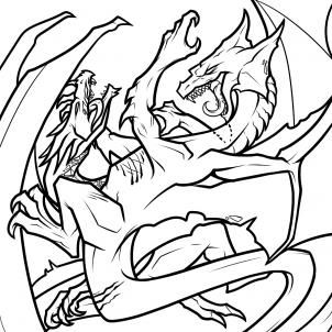 Best 25 dragon fight ideas on pinterest dragon tattoo how to draw dragons fighting dragons fighting step by step dragons draw ccuart Images