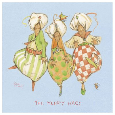 The Merry Magi Pack of Cards at Tom Dickins Fine Art - Supplying Minter-Kemp Products, including Cards, Prints and Mugs. Tom Dickens is a UK Based Company