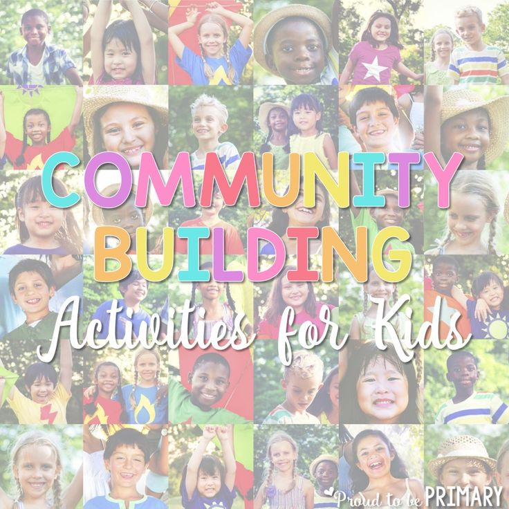 Community building activities for kids to help students learn social skills, develop friendships, and build classroom community.
