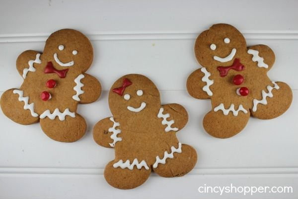 Gingerbread Man Cookie Recipe - CincyShopper