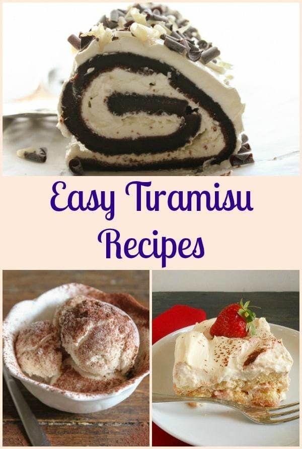 Easy Tiramisu Recipes