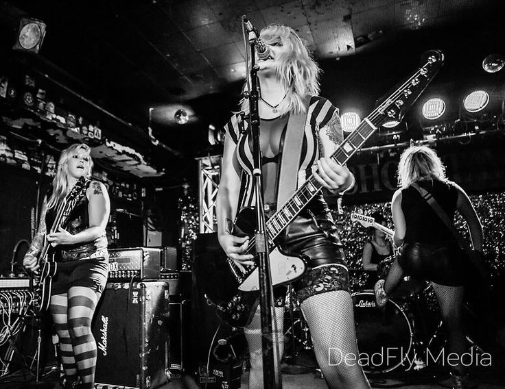 The Anti-Queens at The Horseshoe Tavern, Toronto © DeadFly Media - All Rights Reserved  Music Photography, Concert Photography, Touring Photography, Live Music Photography, Rock, Bands, Artists, Musician, Musicians, Live Music, Concert, Gig, Performing