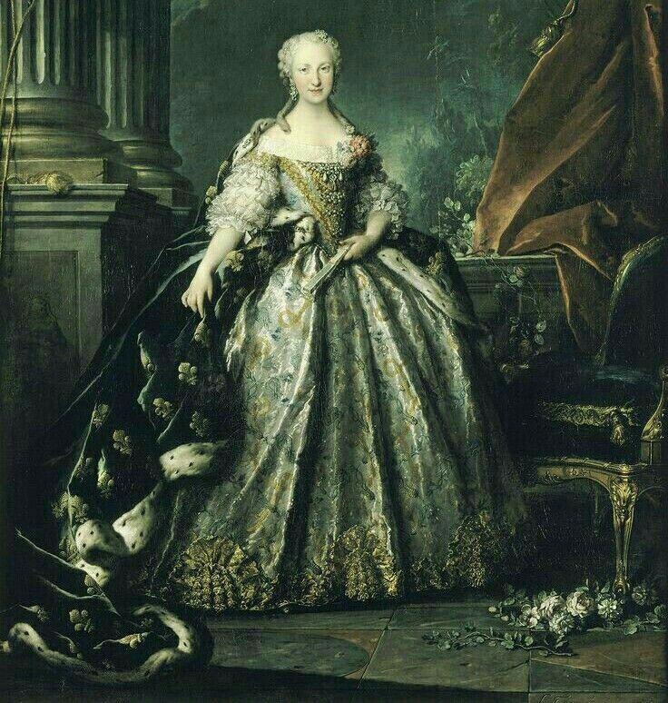 Infanta Maria Teresa Rafaela De Espana Delfina De Francia Fashion History Timeline Fashion History Royal Clothing