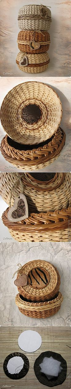 Cestas de papel   -   Paper baskets   -   Кутије од папира | Цоунтри Мастерс: