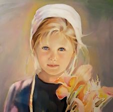 Nancy Noel - Lilly - Amish Print -