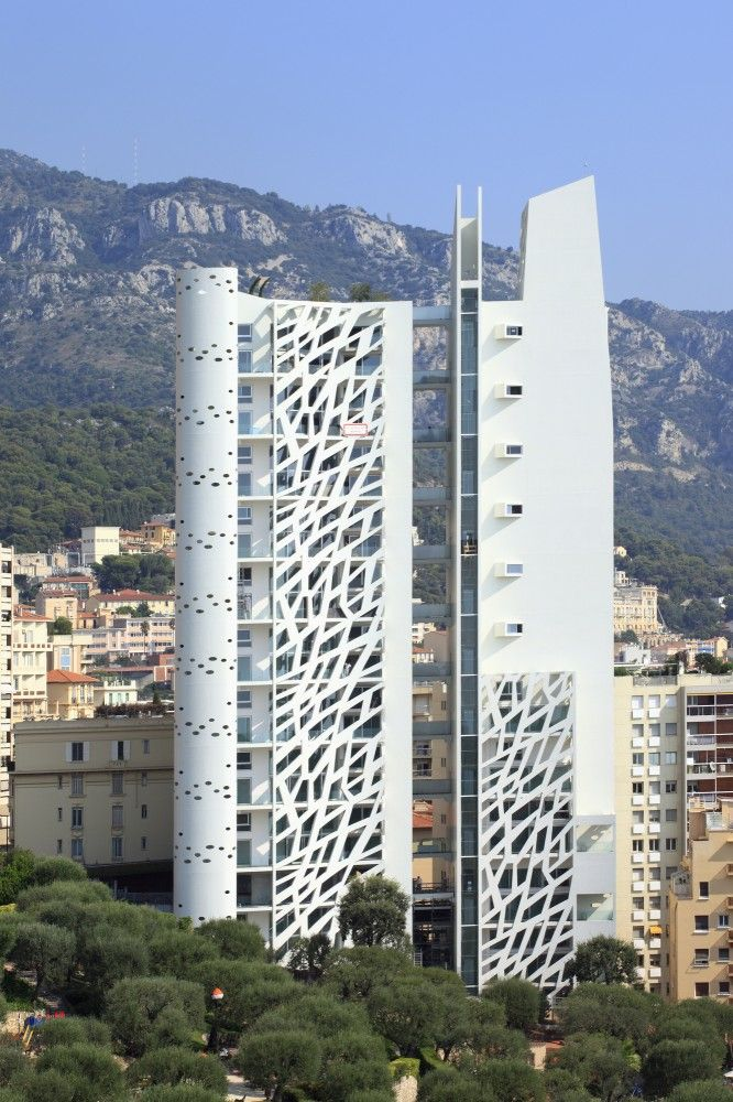The Simona in Monaco by Jean-Pierre Lott Architecte