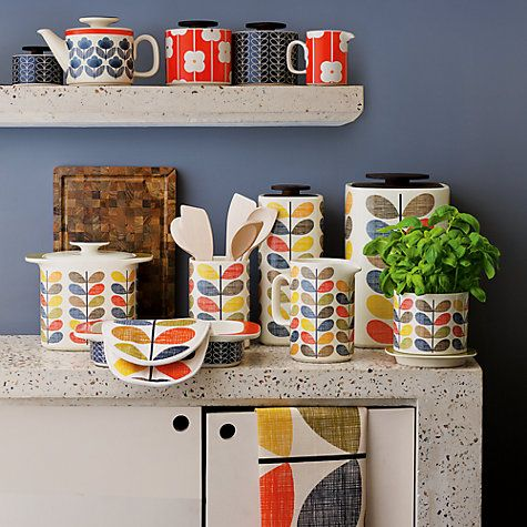 Buy Orla Kiely Multi Stem Kitchen Accessories online at John Lewis