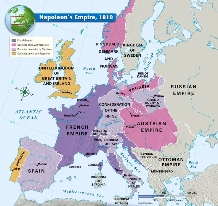the french revolution and napoleon are main catalyst of change in europe