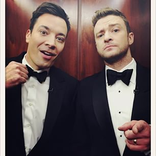 Justin Timberlake was reunited with his one true BFF, Jimmy Fallon: