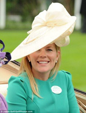 Autumn Phillips on Day 3 Royal Ascot 2013 (in an Gina Foster design)