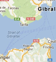 Direct Ferries from Algeciras and Tarifa, Spain to Tangier, Morocco