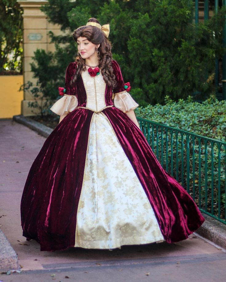 12 best Belle Christmas dress images on Pinterest | Disney ...