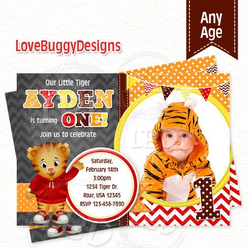 40 best Daniel Tiger Party Daniel Tiger Birthday images on