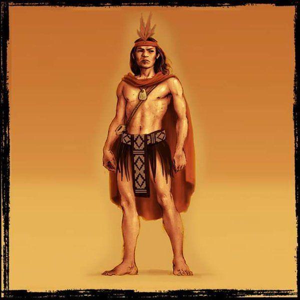 cultura   Mapuche - Lautaro jefe guerrero y  estratega mapuche   que  libró gran   resistencia  durante  la  conquista española.