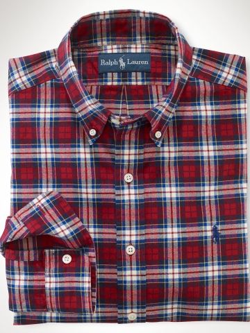 Ralph Lauren Plaid Button-Up Top w/ Tags Quality Free Shipping For Sale BVn9A