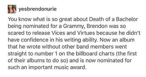 NEVER DOUBT YOURSELF BRENDON YOU'RE AN ACTUAL STAR