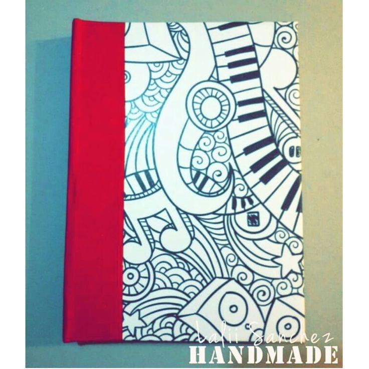 Cuaderno Pentagramado - Hecho 100% a mano