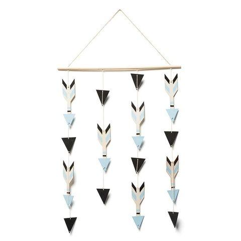 kmart home decor | Decorative Hanging Mobile - Arrow | Kmart